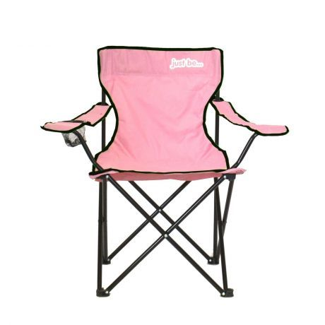 just be Pink Foldable Camping Chair