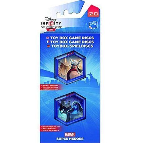 Disney Infinity 2.0 Marvel Toy Box Game Discs