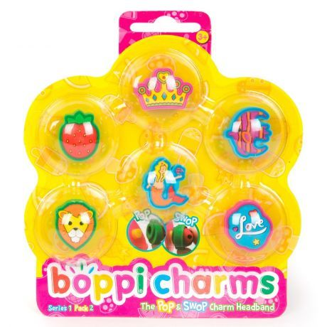 boppiband boppi Charms Pack Series 1 Pack 2 - 6 Charms Packaged