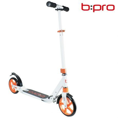b:pro Adult Commuter Scooter With Suspension - White