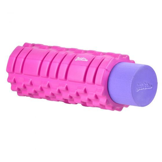 just be 2 in 1 Pink and Purple Trigger Point Massage Roller