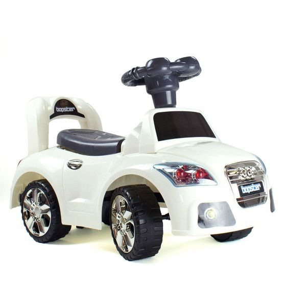 boppi Ride On Sports Car White Audi