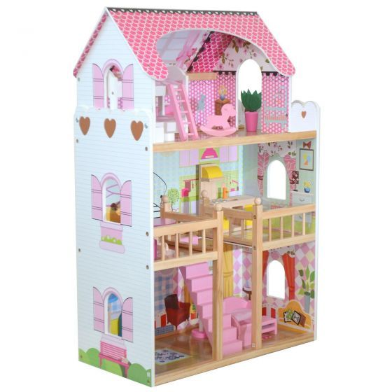 boppi Dolls House Pink - Double Fronted