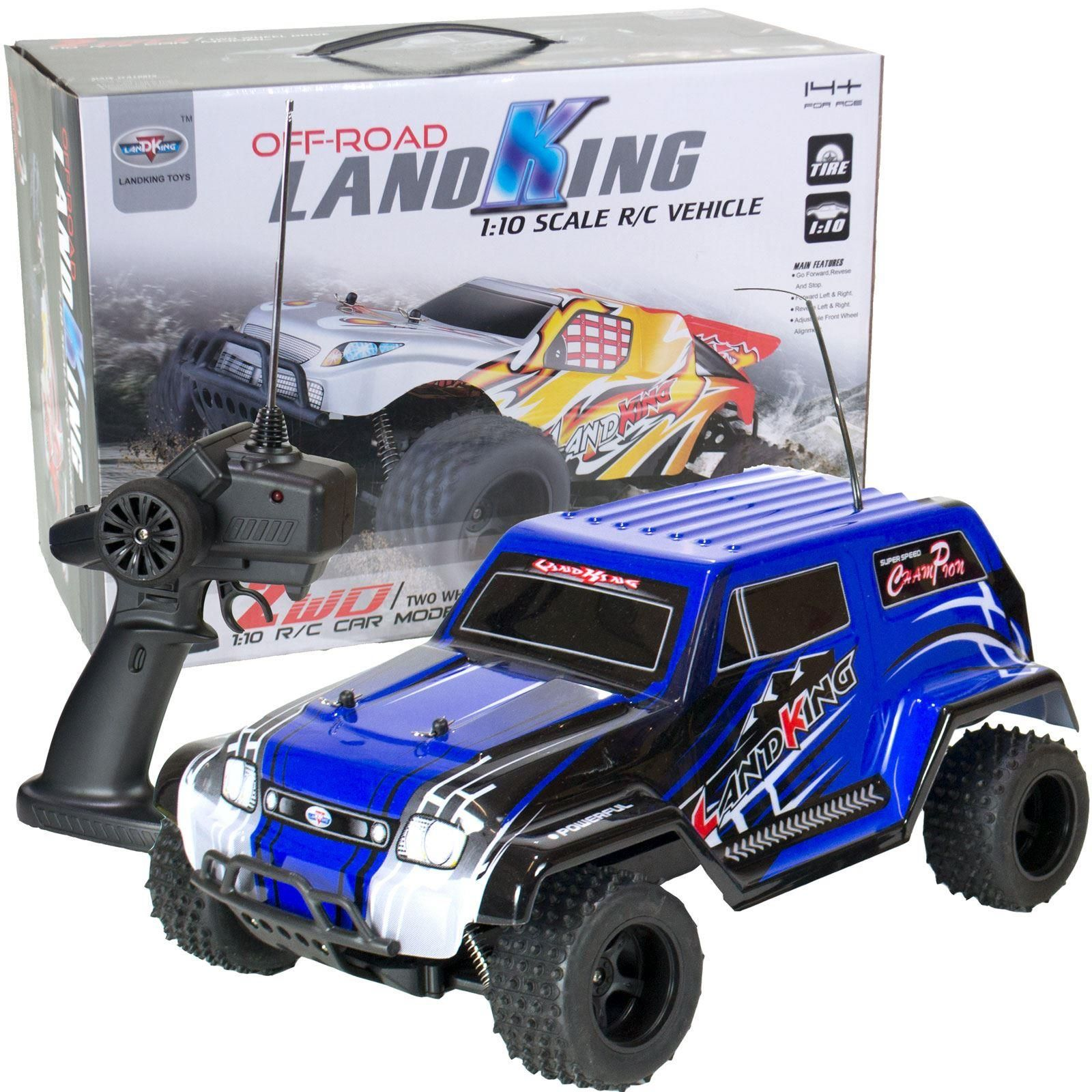 LandKing bopster RC Remote Radio Control Off Road Truck Car