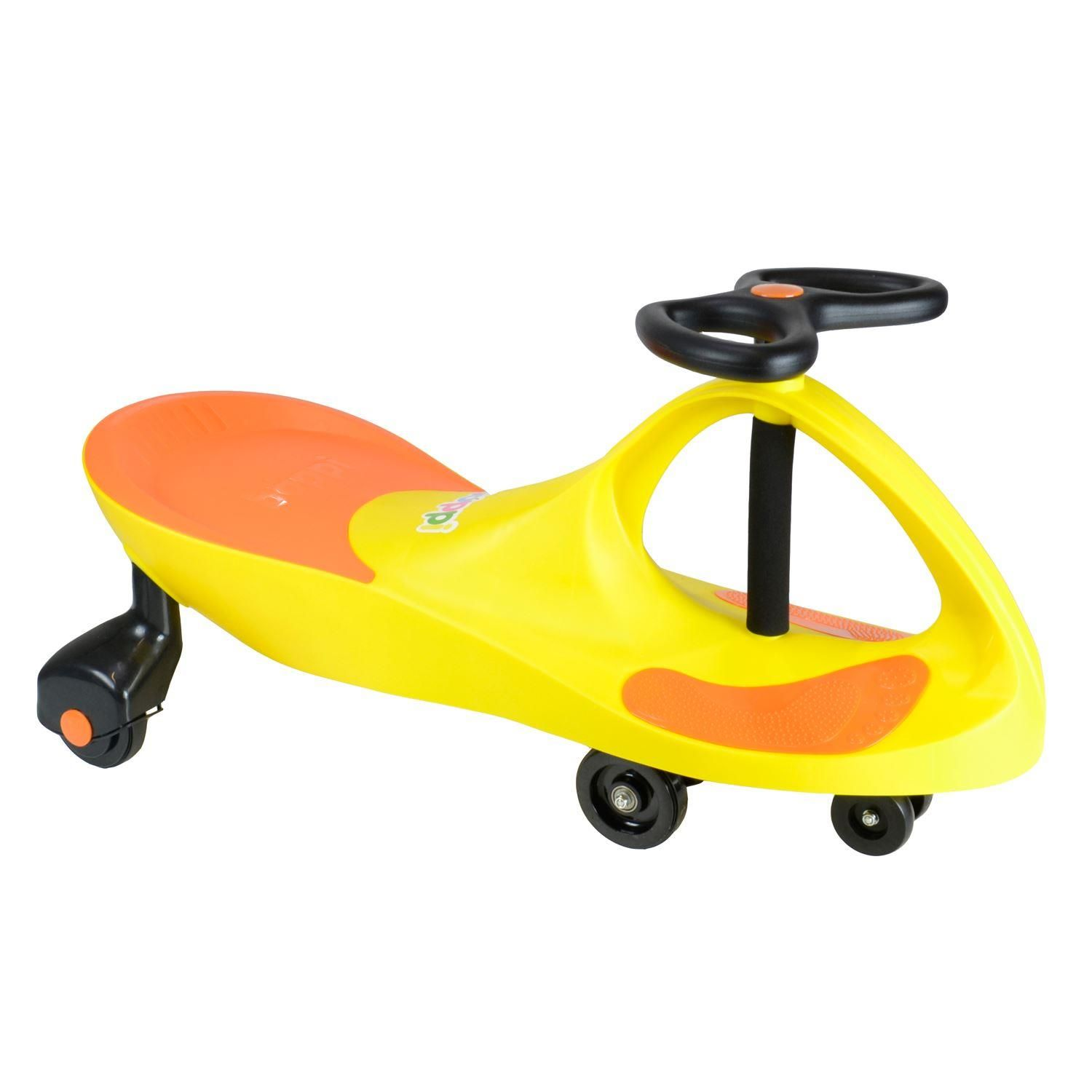 boppi Yellow and Orange Swing Wiggle Car