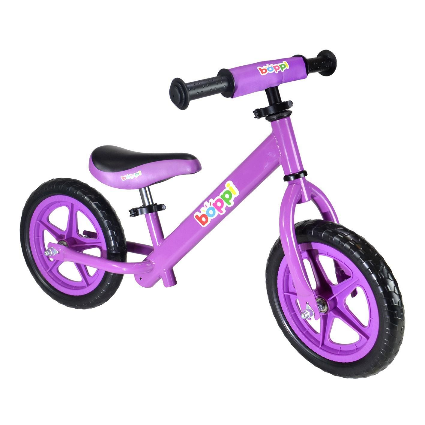 boppi Purple Metal Balance Bike bopster
