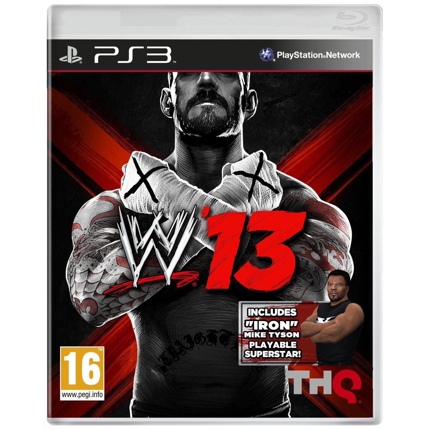 WWE 13 Mike Tyson PS3 Game