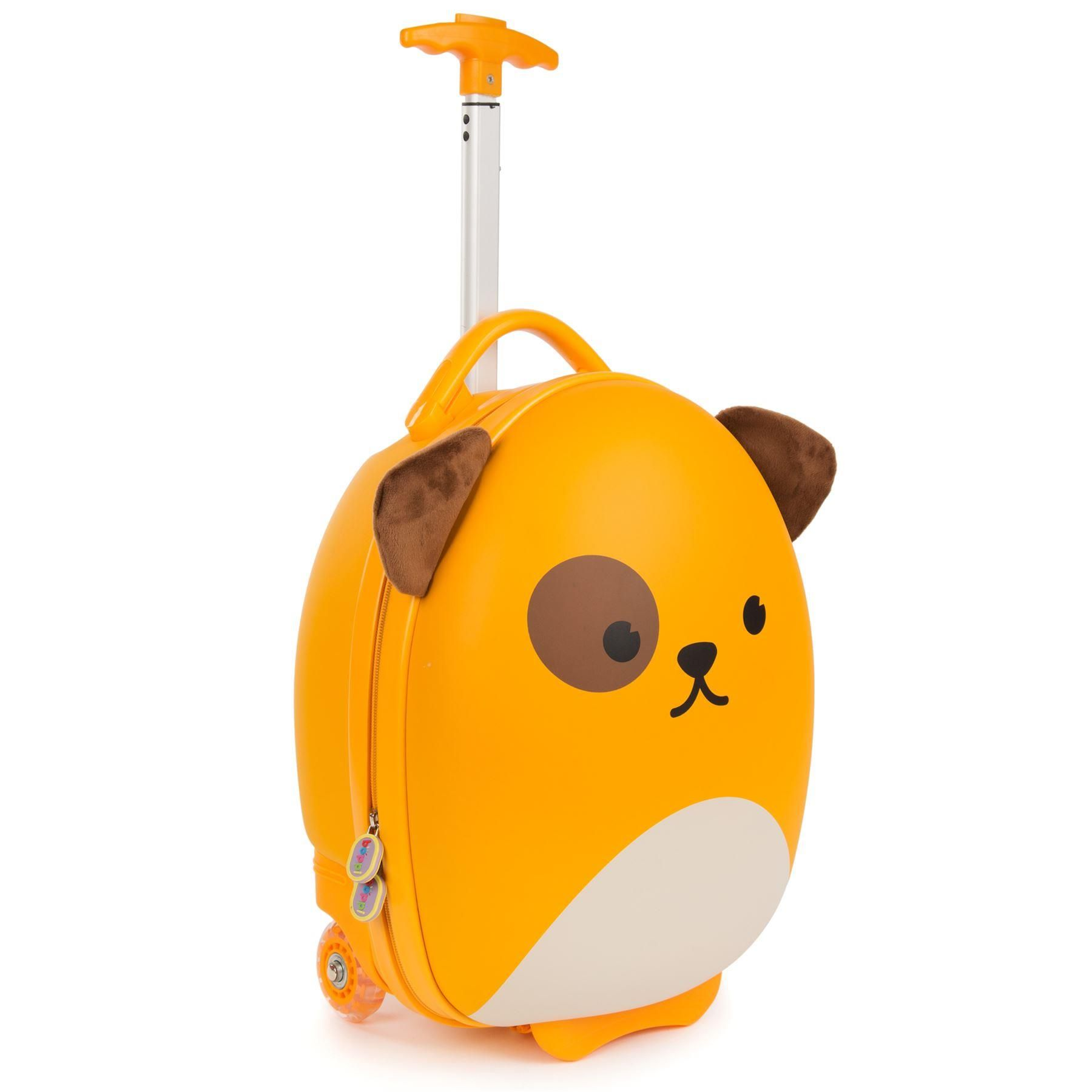 boppi Luggage Case Dog Side on Half Handle