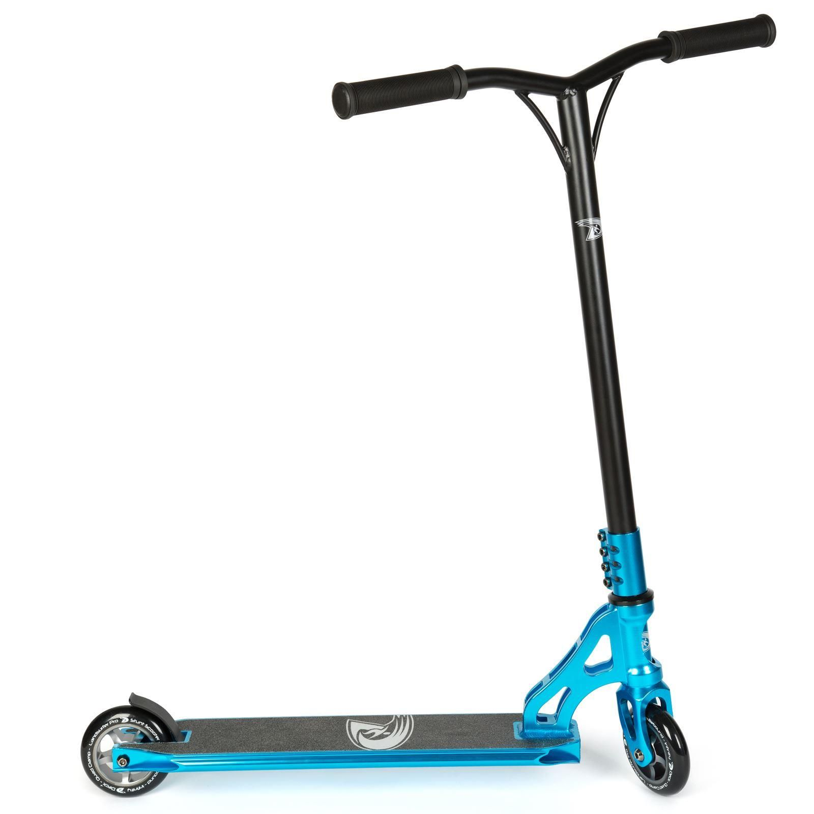 Land Surfer Pro Stunt Scooter Blue