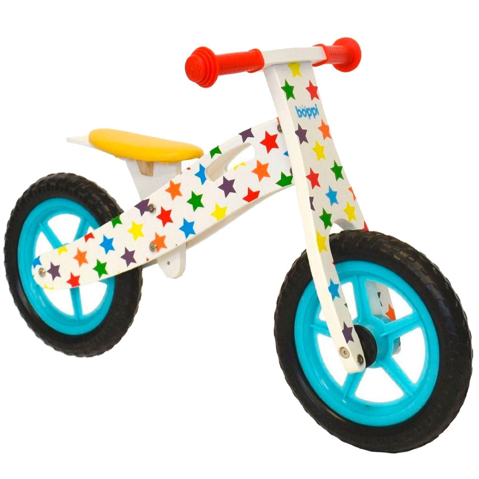 boppi® Wooden Balance Training Bike - Stars bopster