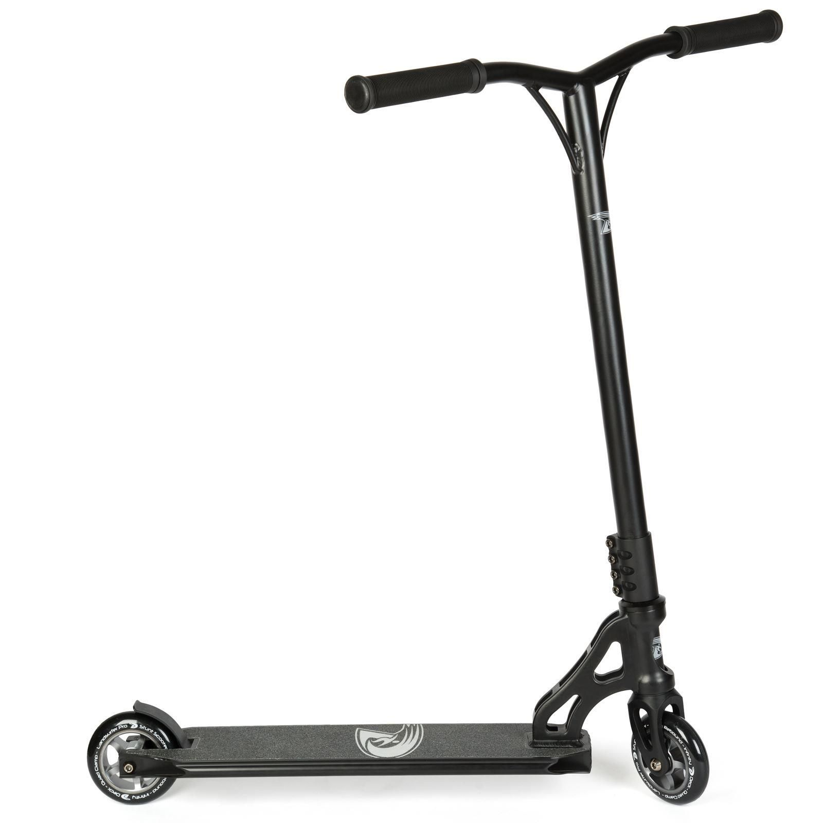 Land Surfer Pro Stunt Scooter Black