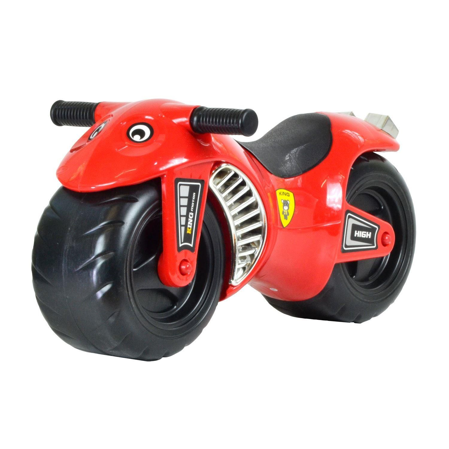boppi Red Ride On Speed Motorbike