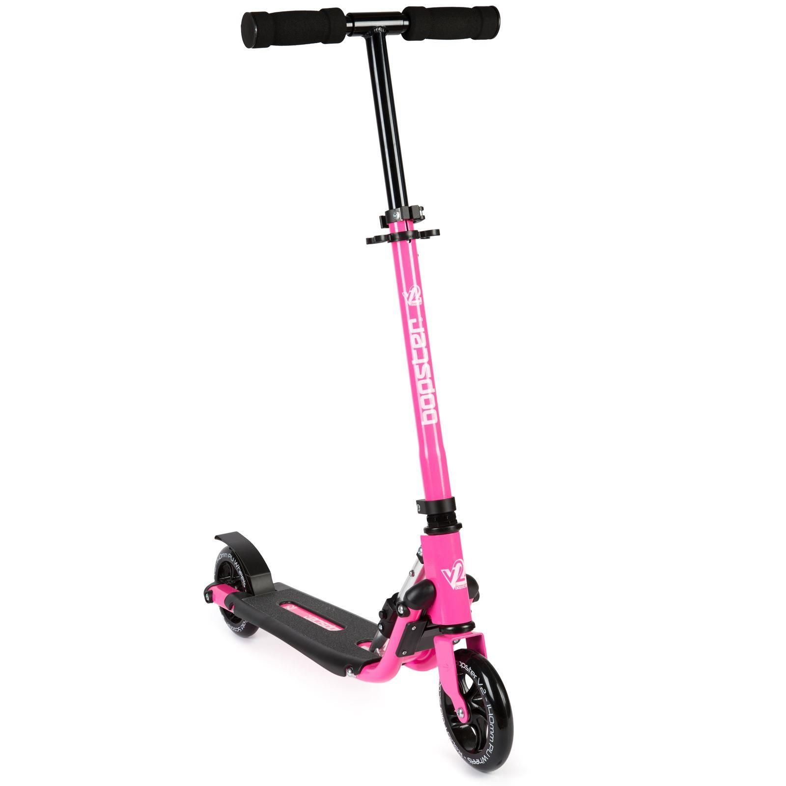 Bopster 2 Wheeled Scooter Folding V2 Pink