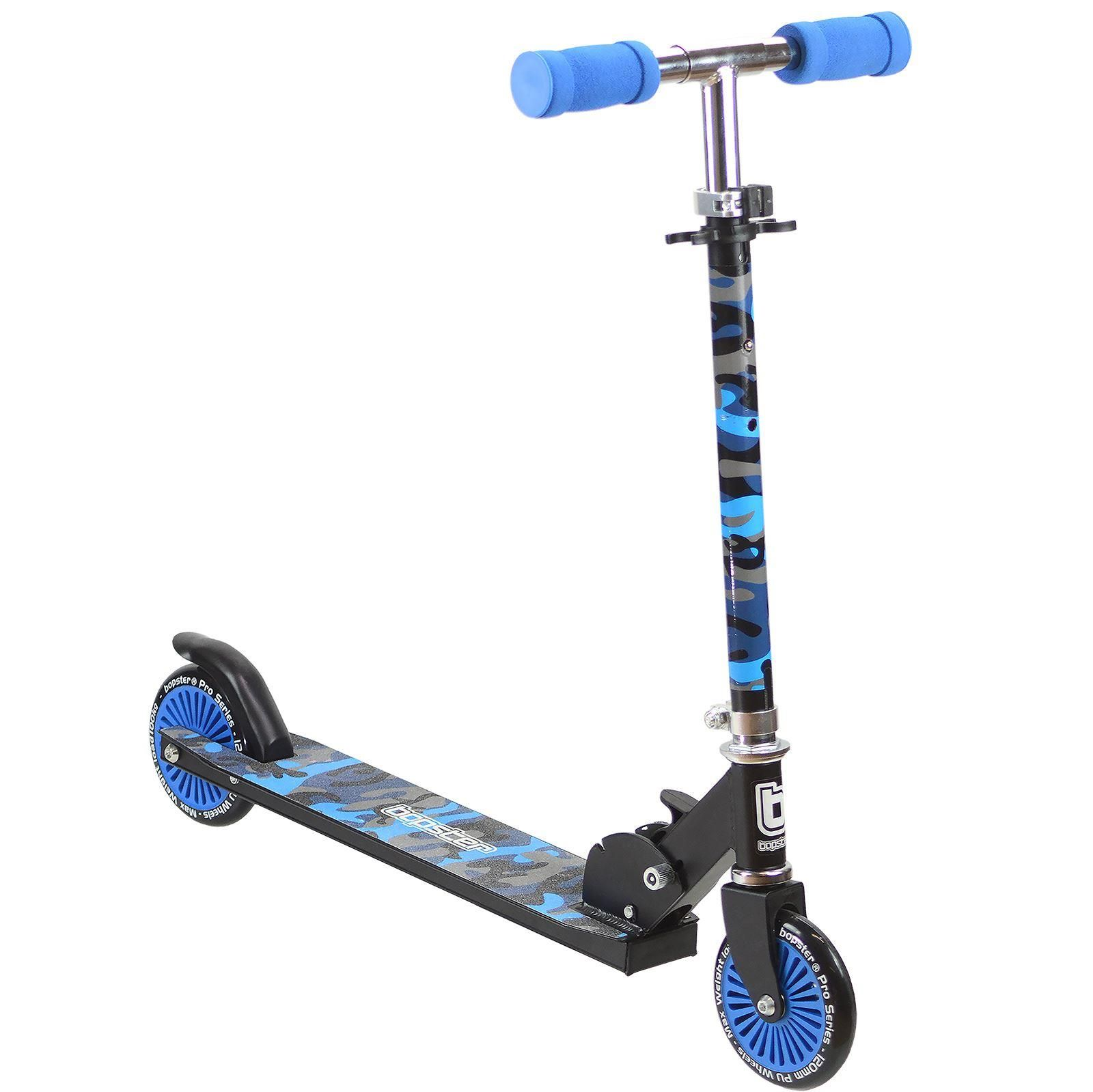 bopster-2-wheeled-folding-kick-scooter-blue-camo