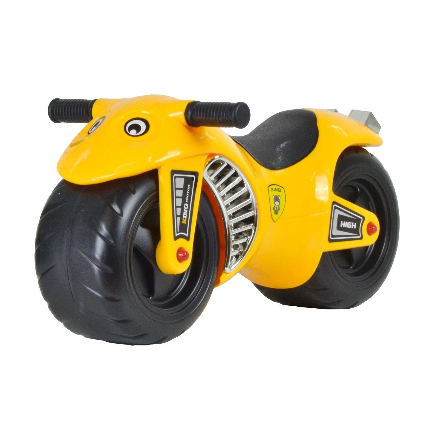 boppi Yellow Ride On Speed Motorbike