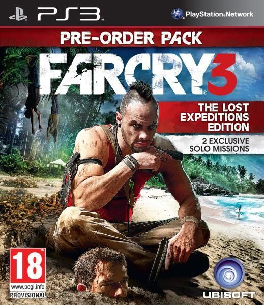 Far Cry 3 Lost Expeditions PS3 Game
