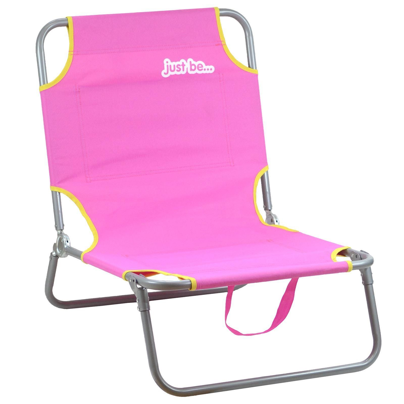Beach & Garden Sun Chair Lounger  - Pink