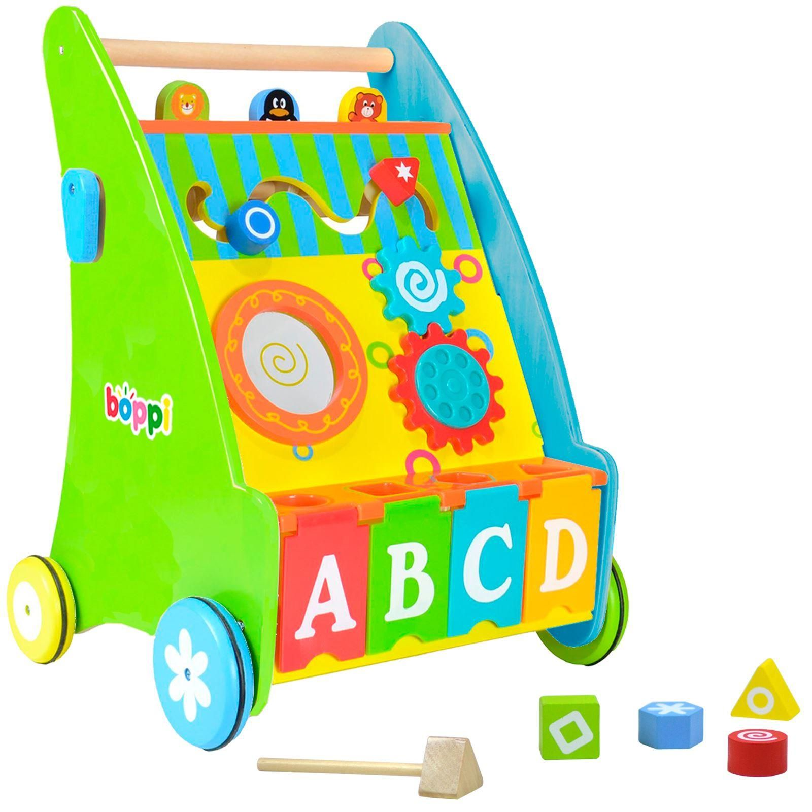 boppi Wooden Activity Baby Walker