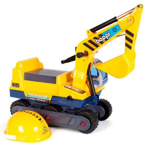 boppi Ride-On Children's Digger Excavator by bopster - Yellow