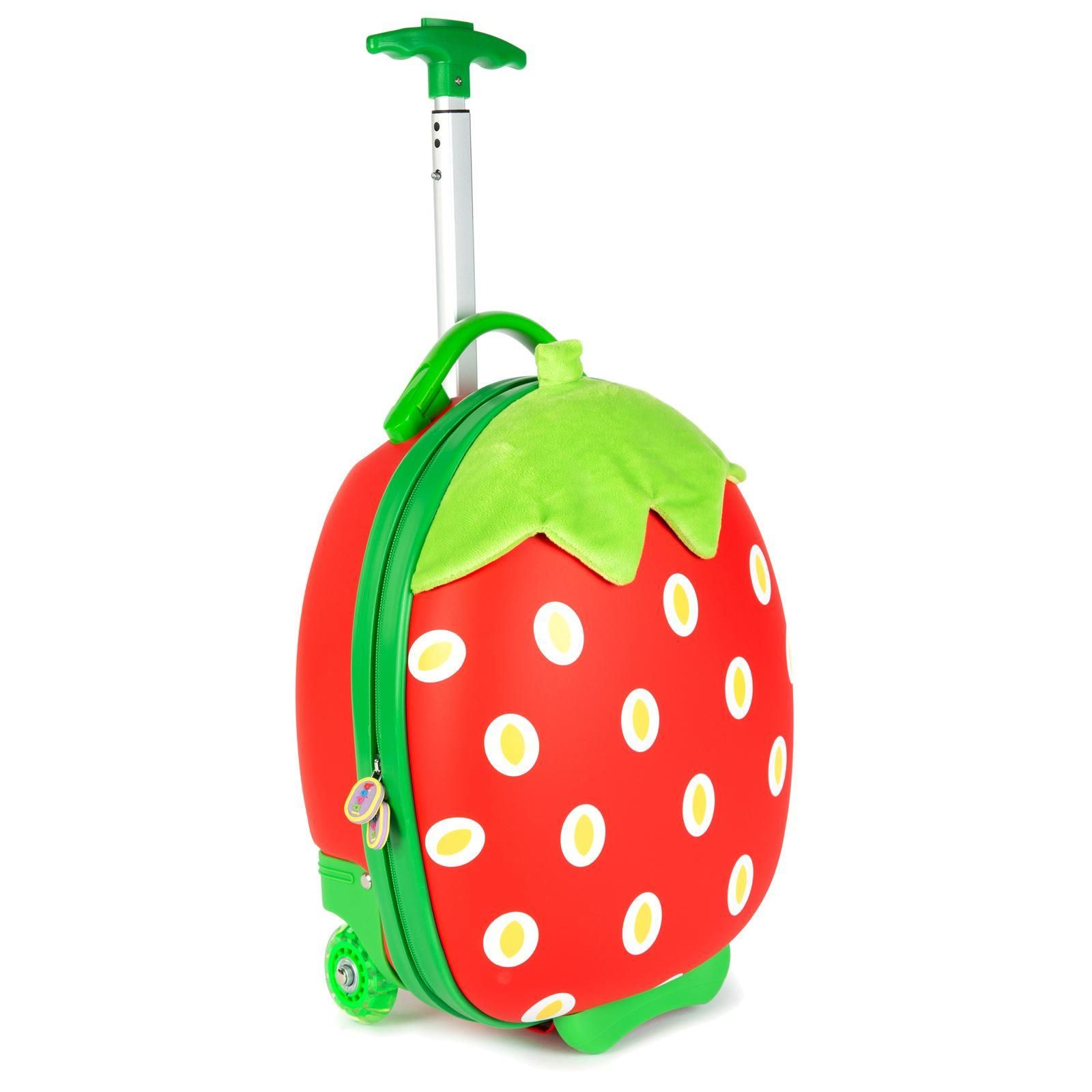 boppi Tiny Trekker Luggage Case - Strawberry